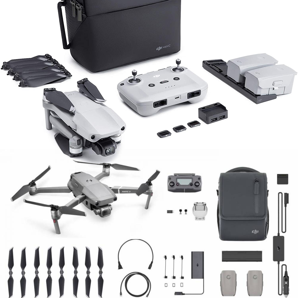 So sánh DJI Mavic Air 2 với Mavic 2 Pro