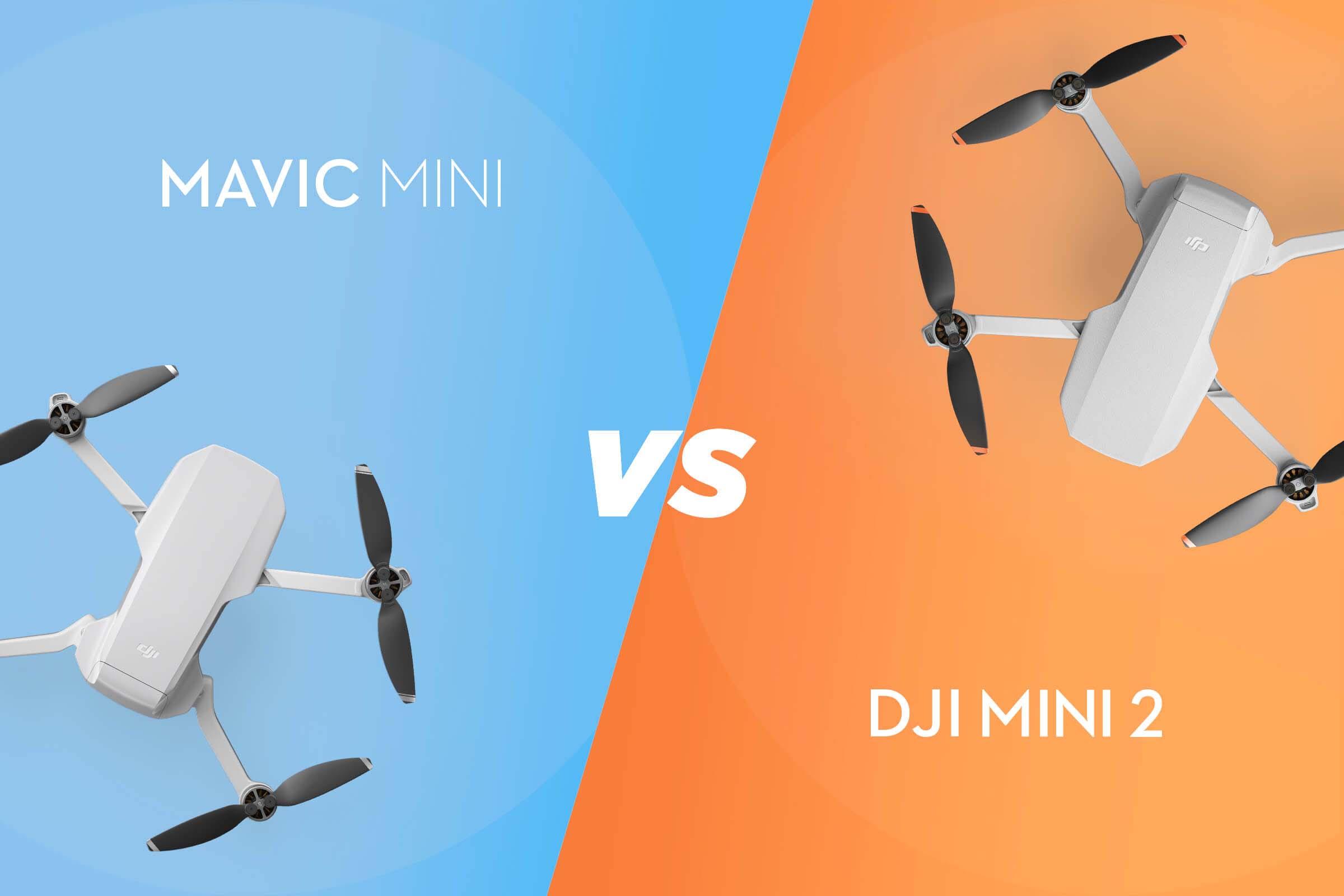 DJI Mini 2 có những gì khác biệt so với DJI Mavic Mini