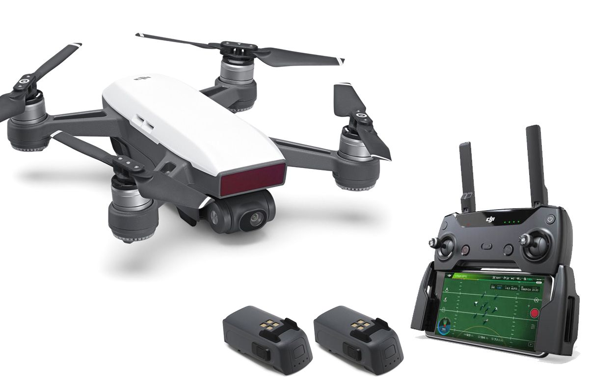 Flycam DJI Spark Bộ Controler Combo (1 remote + 1 pin)