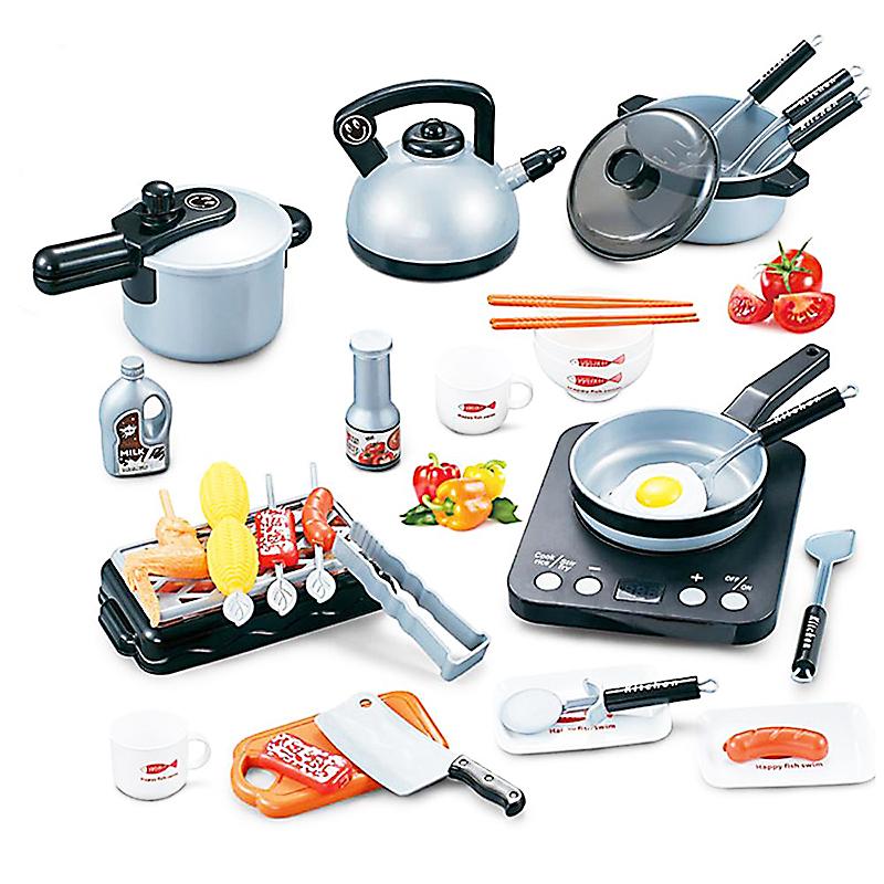 Bộ đồ chơi nấu ăn nhà bếp 36 món cho bé giá rẻ